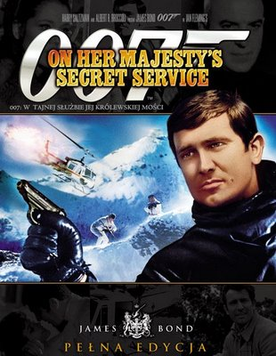 007 - on her majesty's secret service dvd