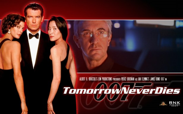 007 tomorrow never dies poster