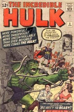 O Hulk foi outro meio termo entre heróis e outros gêneros.