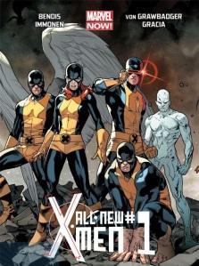 All-New X-Men 01 traz a equipe original do passado...
