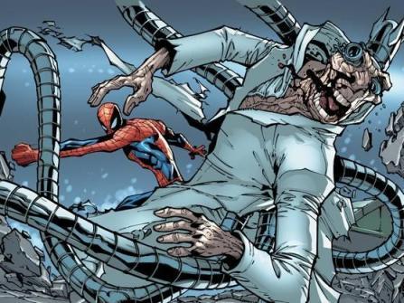 Aranha versus Octopus à beira da morte. Quem é quem?