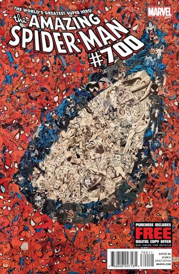 A bela capa de Amazing Spider-Man 700: polêmica.