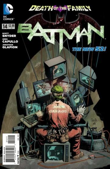 Batman 14 é a segunda revista mais vendida do mês.
