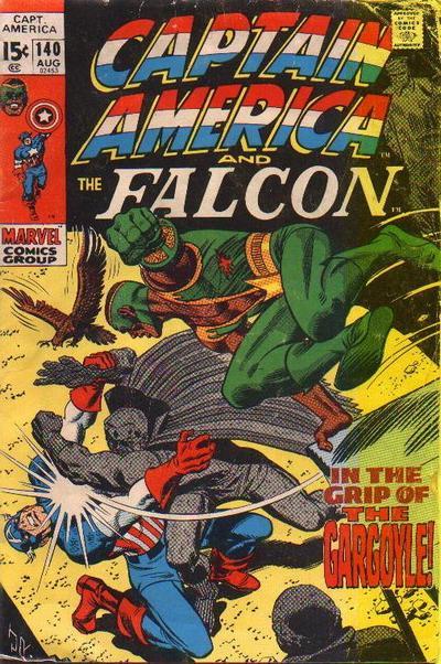 Captain America 140, de 1971: última edição do supersoldado escrita por Stan Lee.