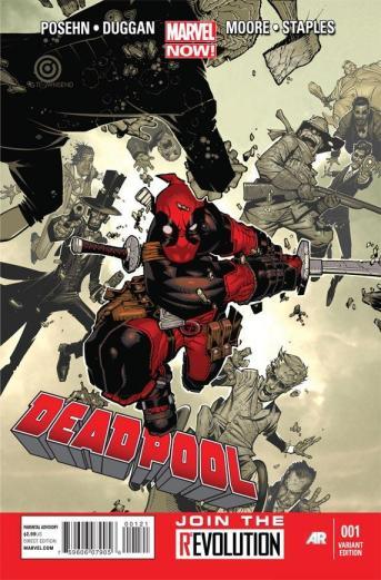 Deadpool emplacou duas revistas no Top25.