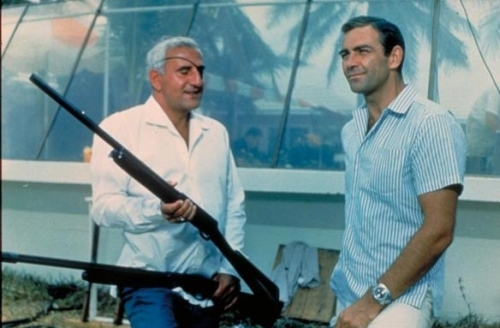 emilio largo and james bond