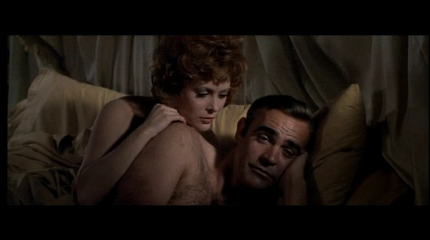 Sean connery in diamons are forever