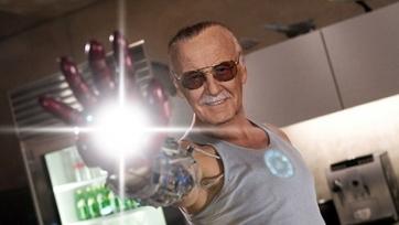Montagem de Stan Lee como o Homem de Ferro: ele também está por trás do sucesso da Marvel no cinema.
