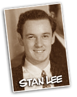 stan lee young sepia