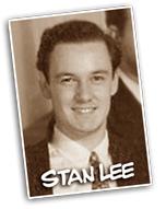 Um Stan Lee bem jovem em começo de carreira.