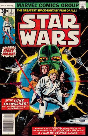 A edição 01 da Marvel, em 1977: sucesso estrondoso.