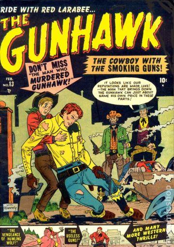 Os quadrinhos de faroeste da Atlas chegaram a fazer sucesso.