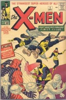 Os X-Men: um novo tipo de super-heróis.