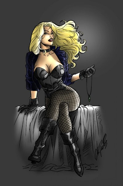 BlackCanary sit down