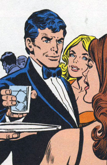 BruceWayne in the party 70s