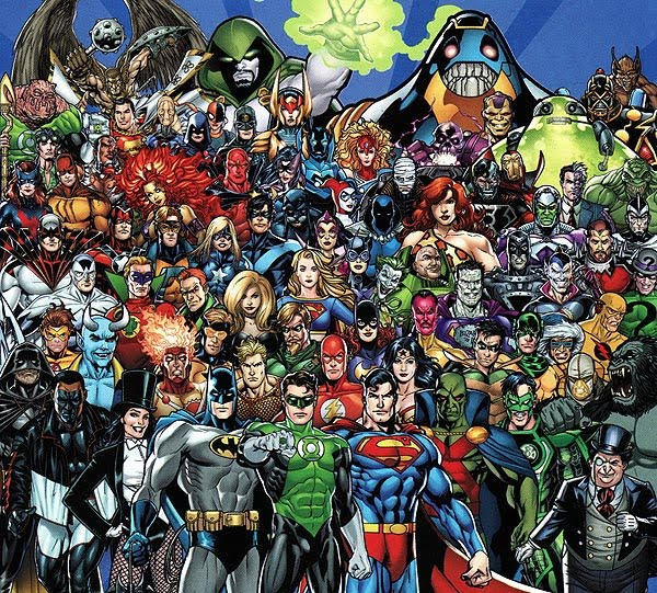 dc75family paint by George Perez without shine