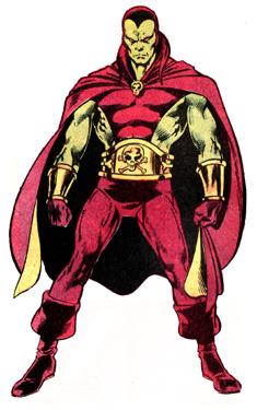 Drax em seu visual original, dos anos 1970.