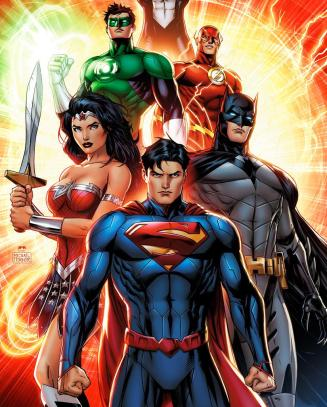 Liga da Justiça: novo desenho animado em 2015.