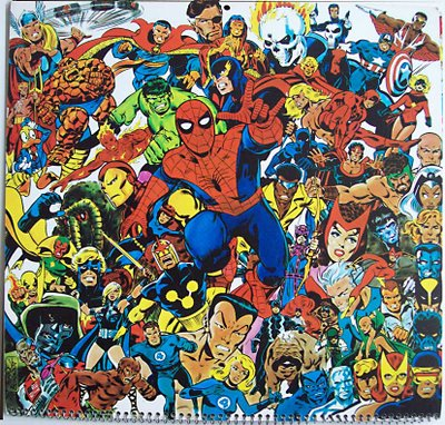 marvel caracters by john byrne