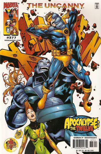 Capa de Uncanny X-Men 377: Os Doze.