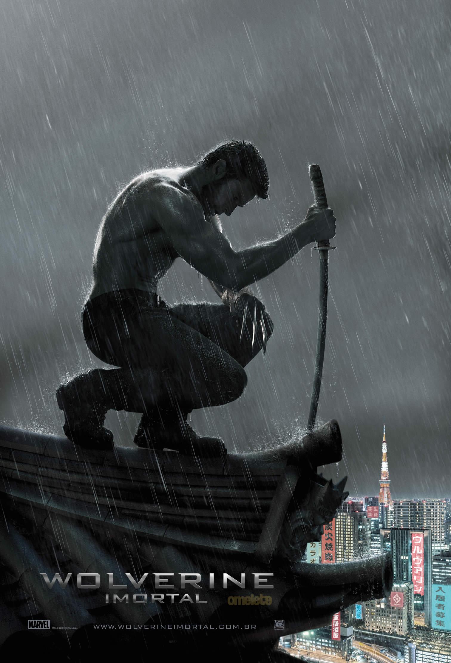 Wolverine 2 poster brasileiro Imortal