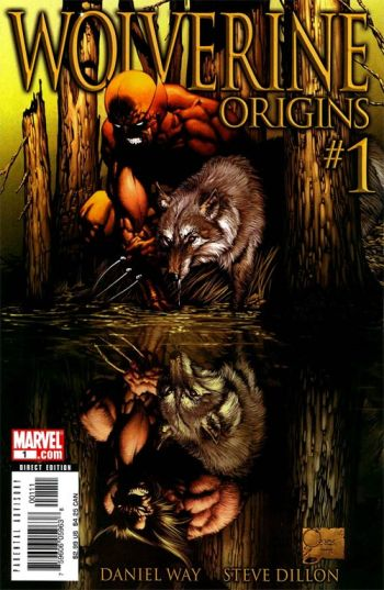 Capa de Origins 01, por Joe Quesada.