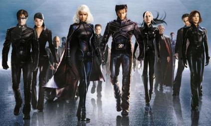 Os X-Men da Fox.