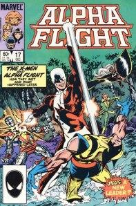 Wolverine era um personagens constante nas histórias da Tropa Alfa por John Byrne.