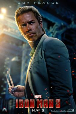 Guy Pearce como Aldric Killian: papel ampliado na trama.