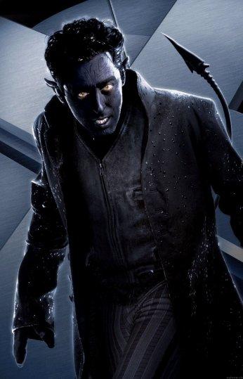 O Noturno de X-Men 2: de volta em versão mais jovem.