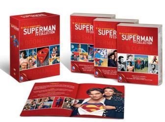 O Box com 30 discos e o melhor do Superman para a TV, desde 1941 até hoje.