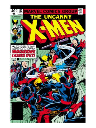 A capa de Uncanny X-Men 133: outra edição importante para Wolverine. Arte de John Byrne.