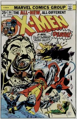 uncanny x-men 94 cover 1975