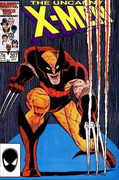 Icônica capa de John Romita Jr. ilustra Wolverine como protagonista dos X-Men.