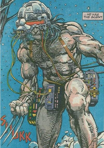 Arma X na arte deslumbrante de Barry Windsor-Smith.