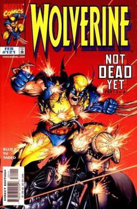 Wolverine 121 com o arco Duro de Matar de Ellis e Yu.