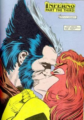 O reencontro com Jean Grey: beijar à força vale?