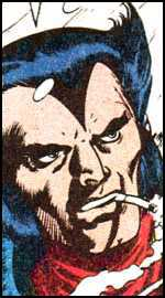 wolverine First time Logan face