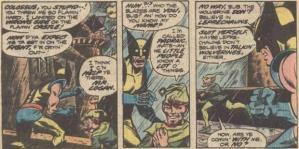 Wolverine e o leprechaun: glutões falantes e Logan.