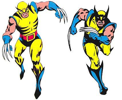 Compare os visuais de John Romita e Gil Kane para Wolverine.