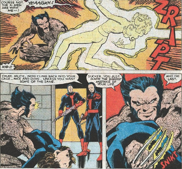 wolverine without closes UX131