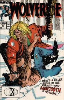 Capa de Wolverine 10: pistas do passado e da relação com Dentes de Sabre.