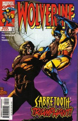 Chris Claremont volta brevemente. Aqui, Wolverine 127.