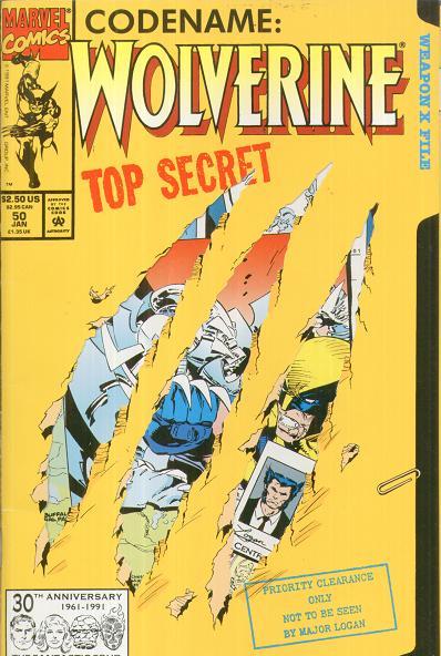 Wolverine 50: implantes de memórias falsas.