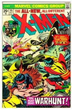 As capas de Uncanny X-Men 94 e 95 não trazem Wolverine.