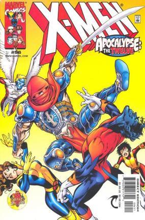 Wolverine como Morte, o cavaleiro de Apocalipse. Arte de Alan Davis.