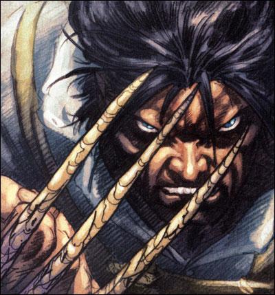 Wolverine está com o pé na cova.