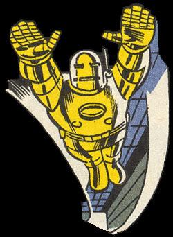 A armadura dourada.