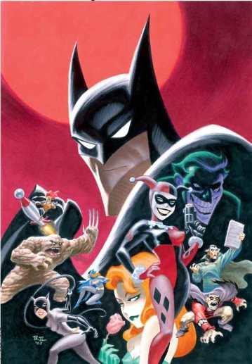 Batman - The Animated Series foi o começo de tudo, em 1992.
