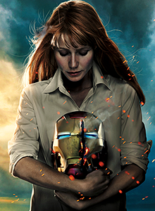 iron-man 3 poster pepper potts